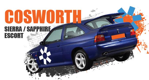 Sierra, Sapphire 2WD/4WD & Escort Cosworths