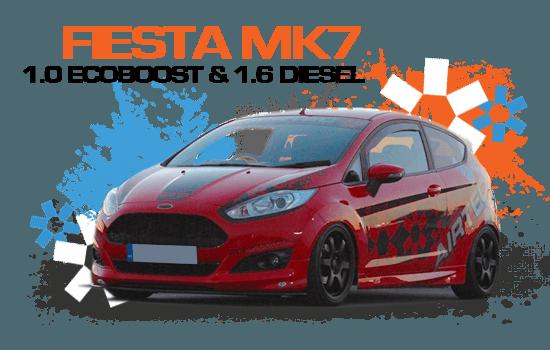 Fiesta MK7 1.6 Diesel & 1.0 EcoBoost - 100ps, 125ps & 140ps